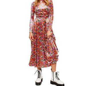 NWT Free People Heartland Midi Maxi Dress Size XS